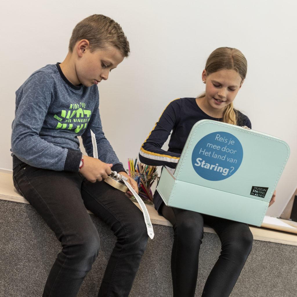 Museum STAAL Koffertje van Staring voor kinderen